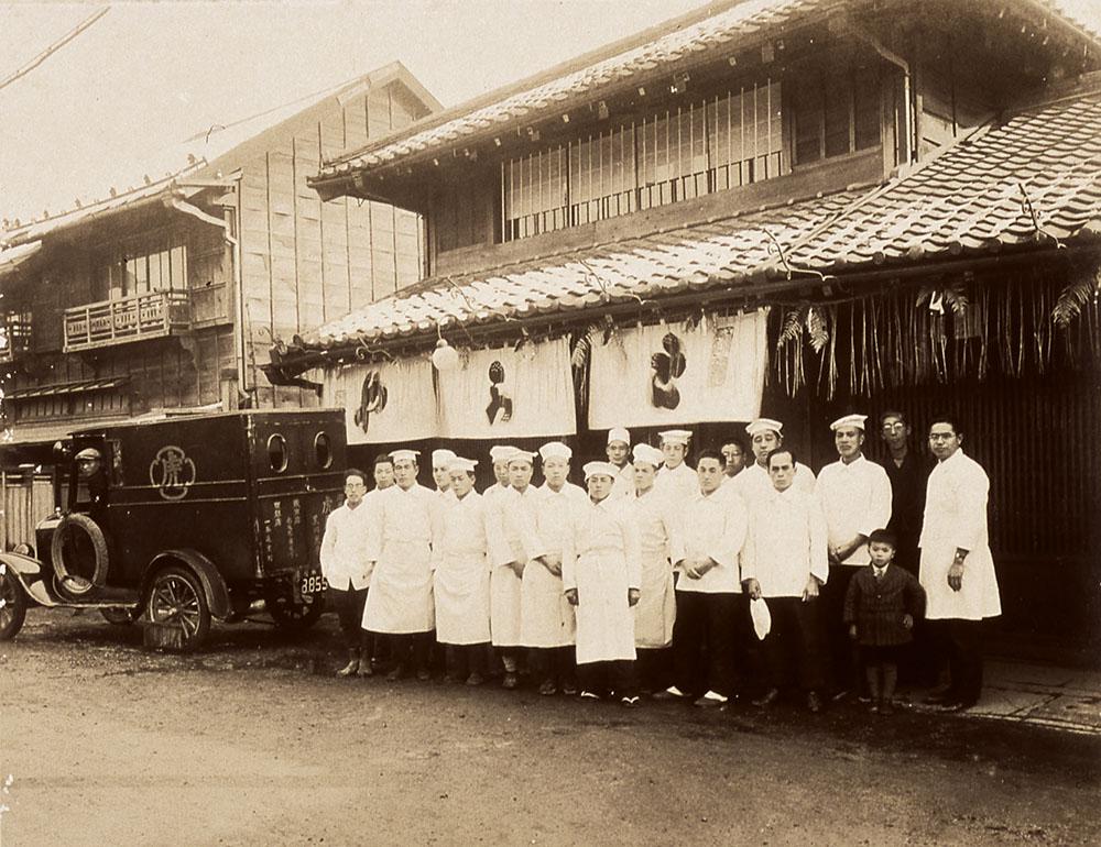 1925年の店頭イメージ