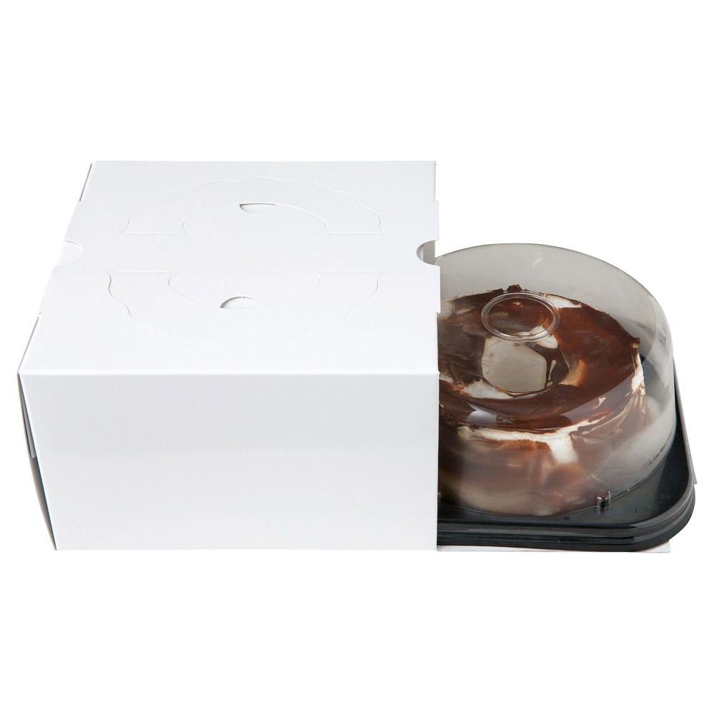 チョコレートキャラメルシフォンケーキ