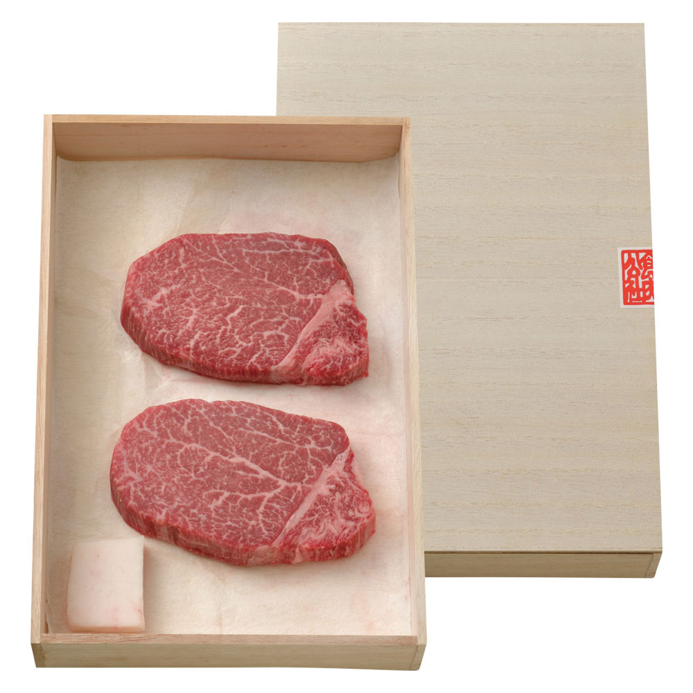 シャトーブリアン(米沢牛最高級ヒレステーキ用)2枚