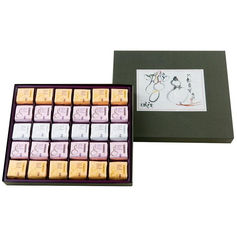 六瓢息災(七福神カード付き)3種 30個入り