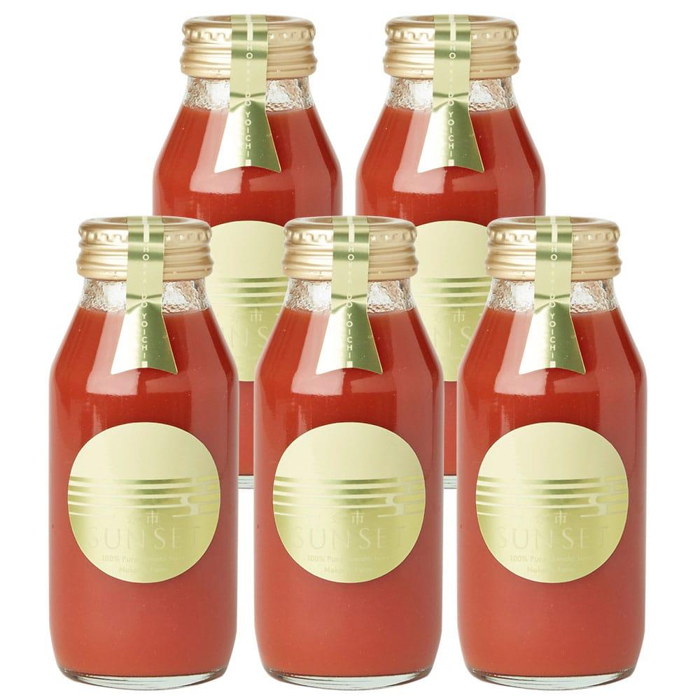 余市SUNSET トマトジュース 5本入り