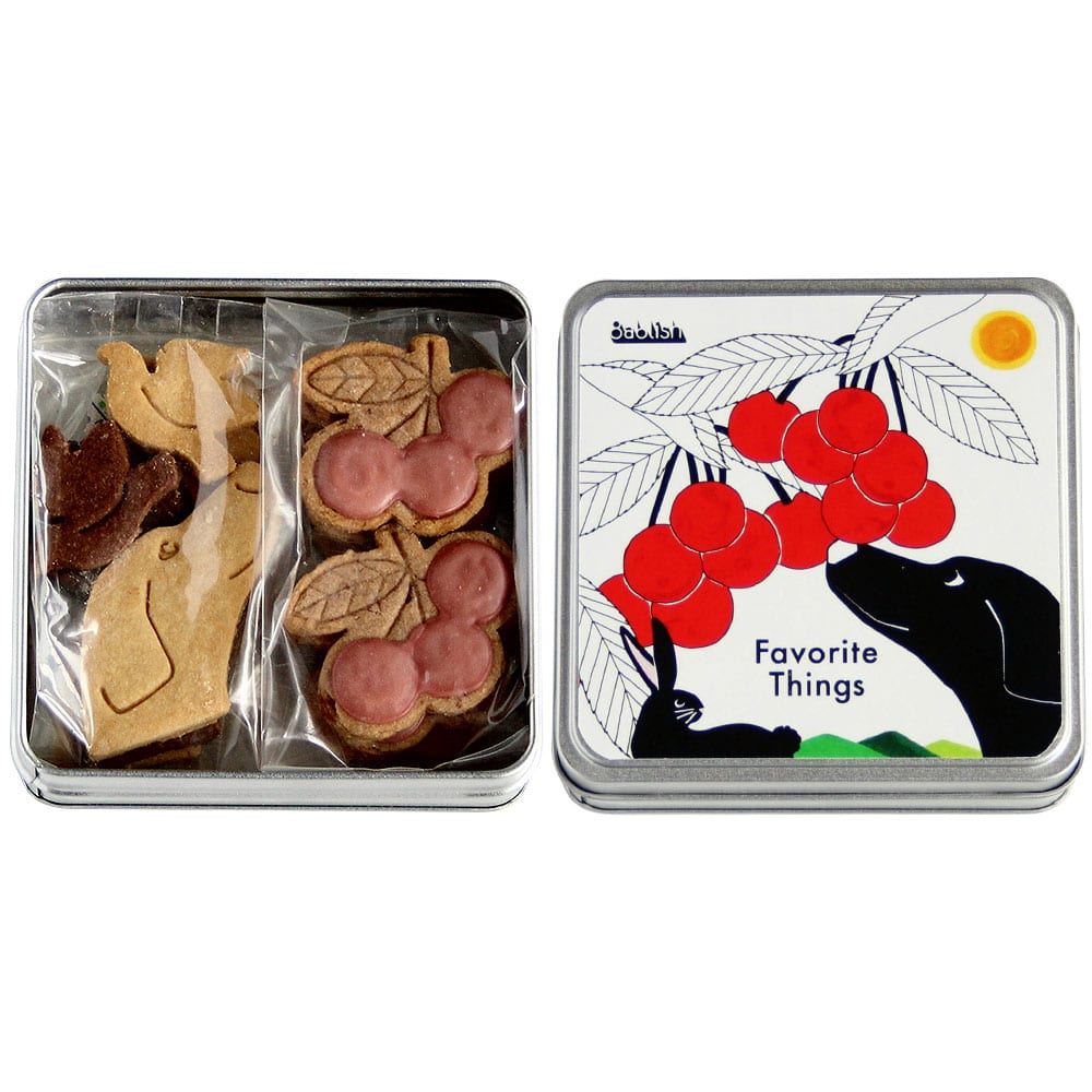 フェイバリットシングスシリーズクッキー缶&バッグセット「チェリー」