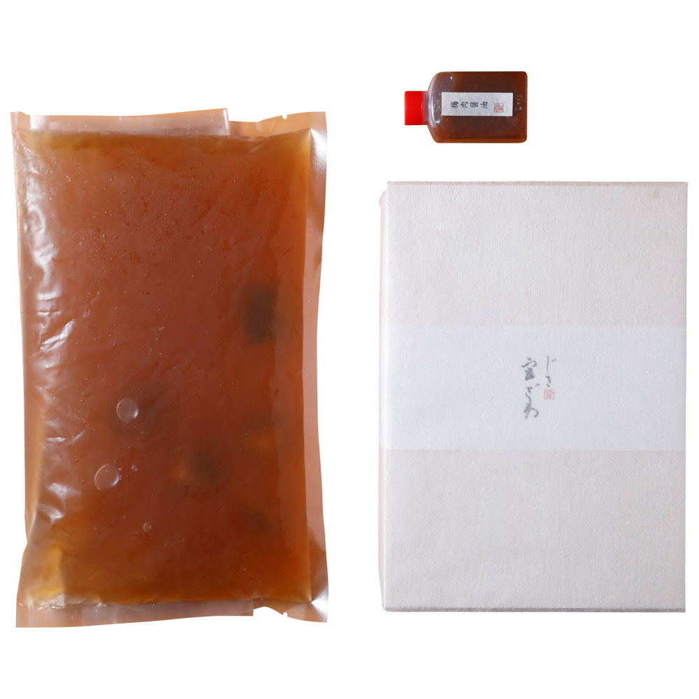 ハモとあわびの養生鍋(2〜3人前)