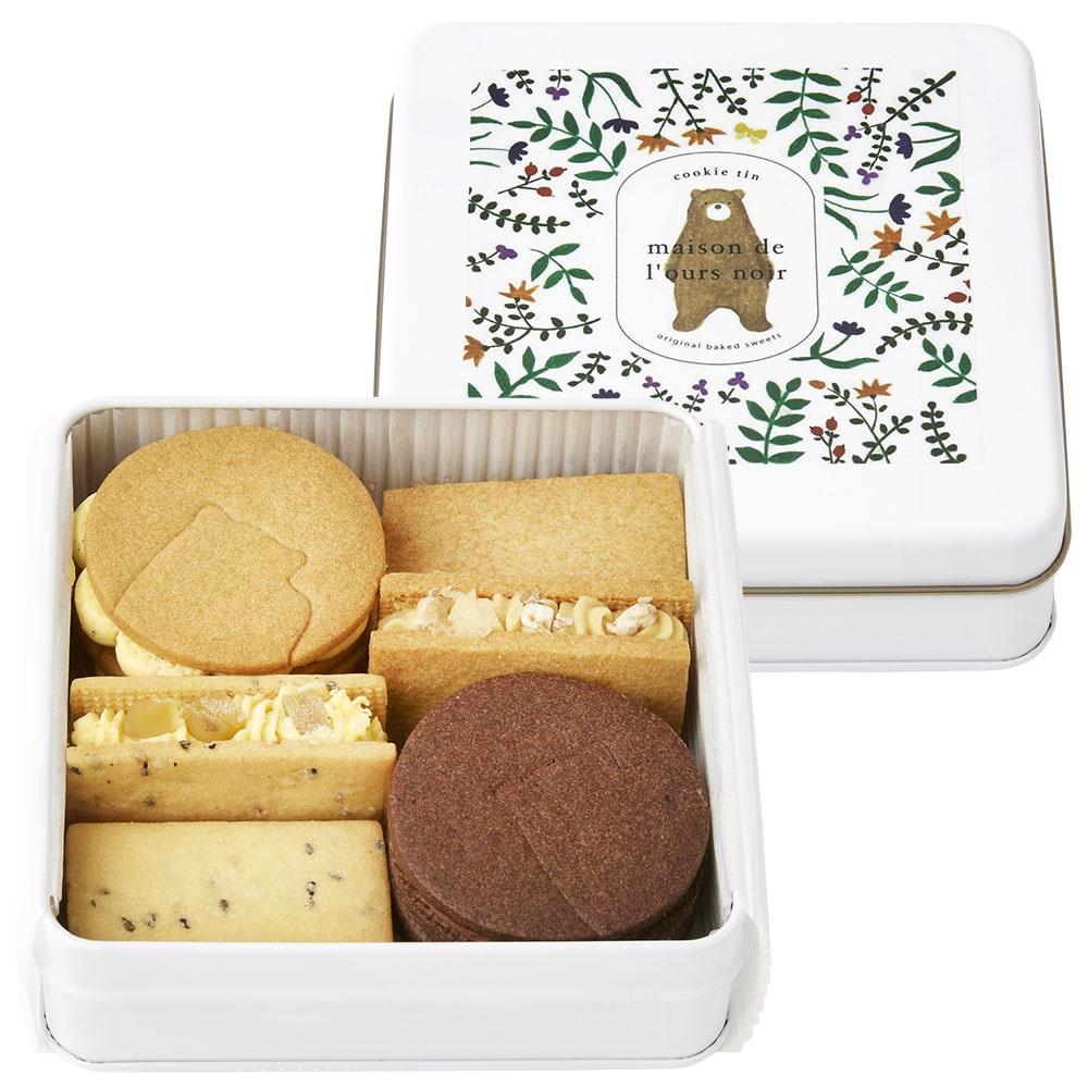 オリジナルバターサンドクッキー 秋缶