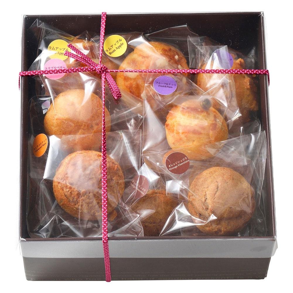 木の実とフルーツのプチフローズンシュー15個入り(5種×3個)