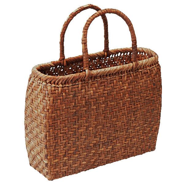 つる工房鷹山 山ぶどう網代編み籠バッグ商品画像