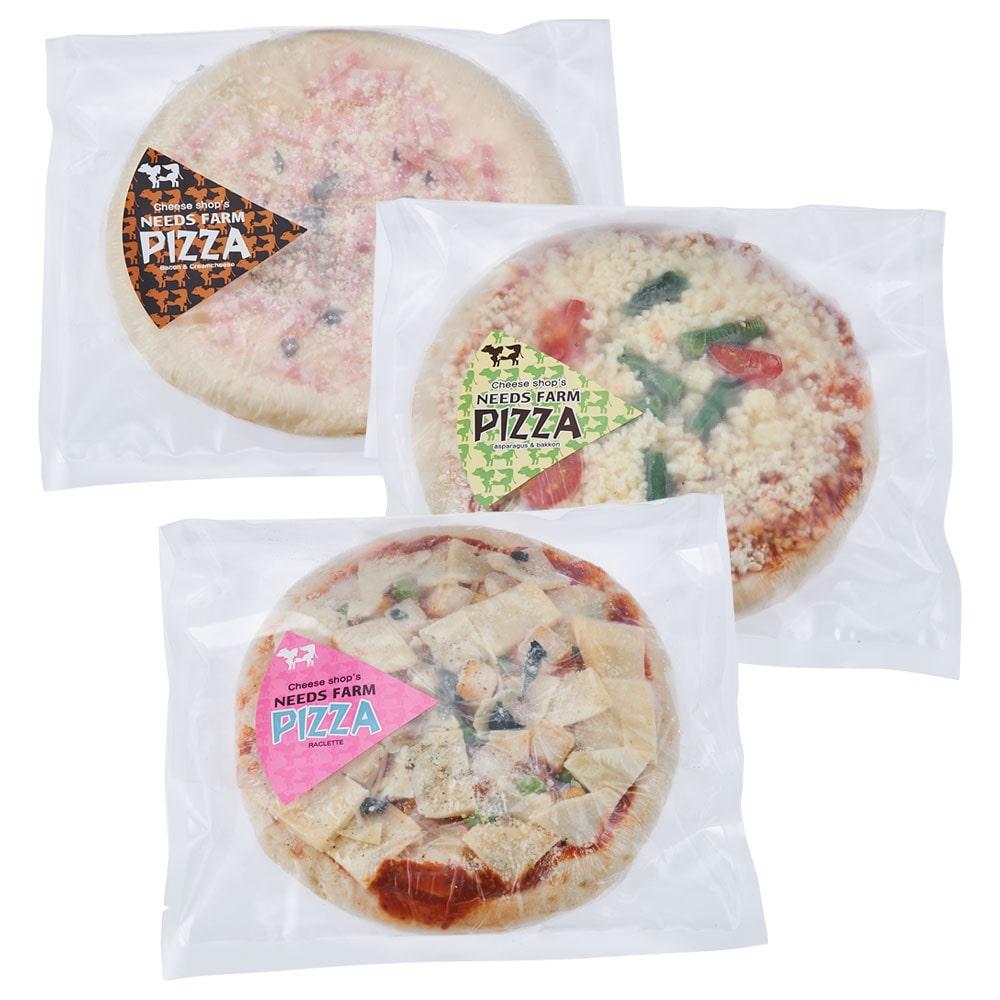 チーズ工房NEEDSピザ 3枚セット