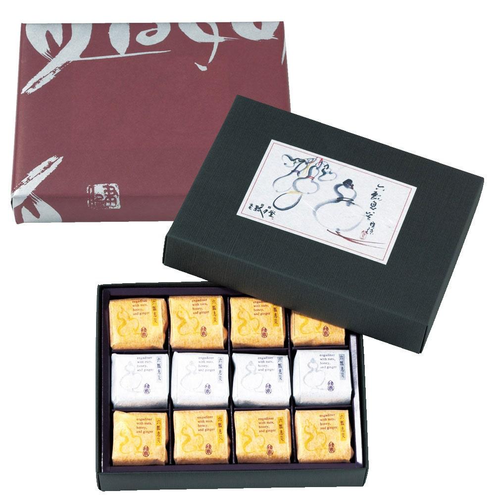 六瓢息災(七福神カード付き)2種12個入り