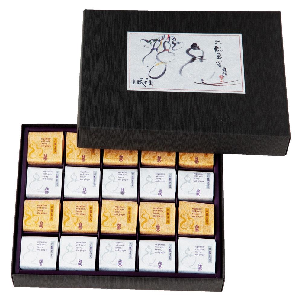 六瓢息災(七福神カード付き)2種20個入り