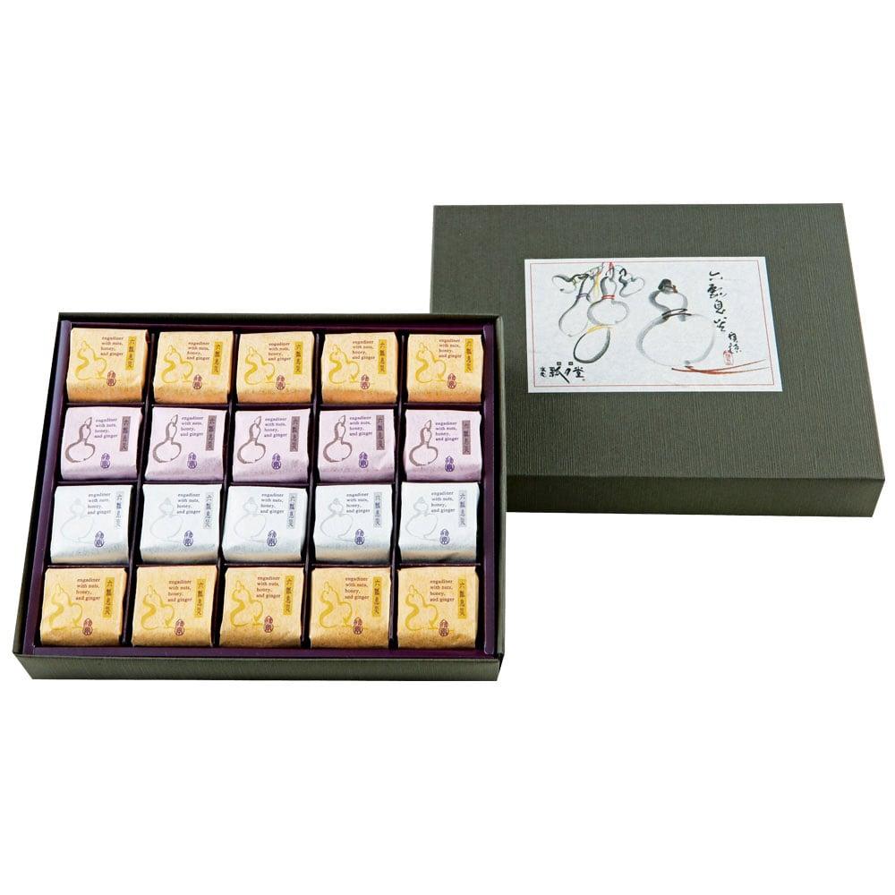 六瓢息災(七福神カード付き)3種 20個入り