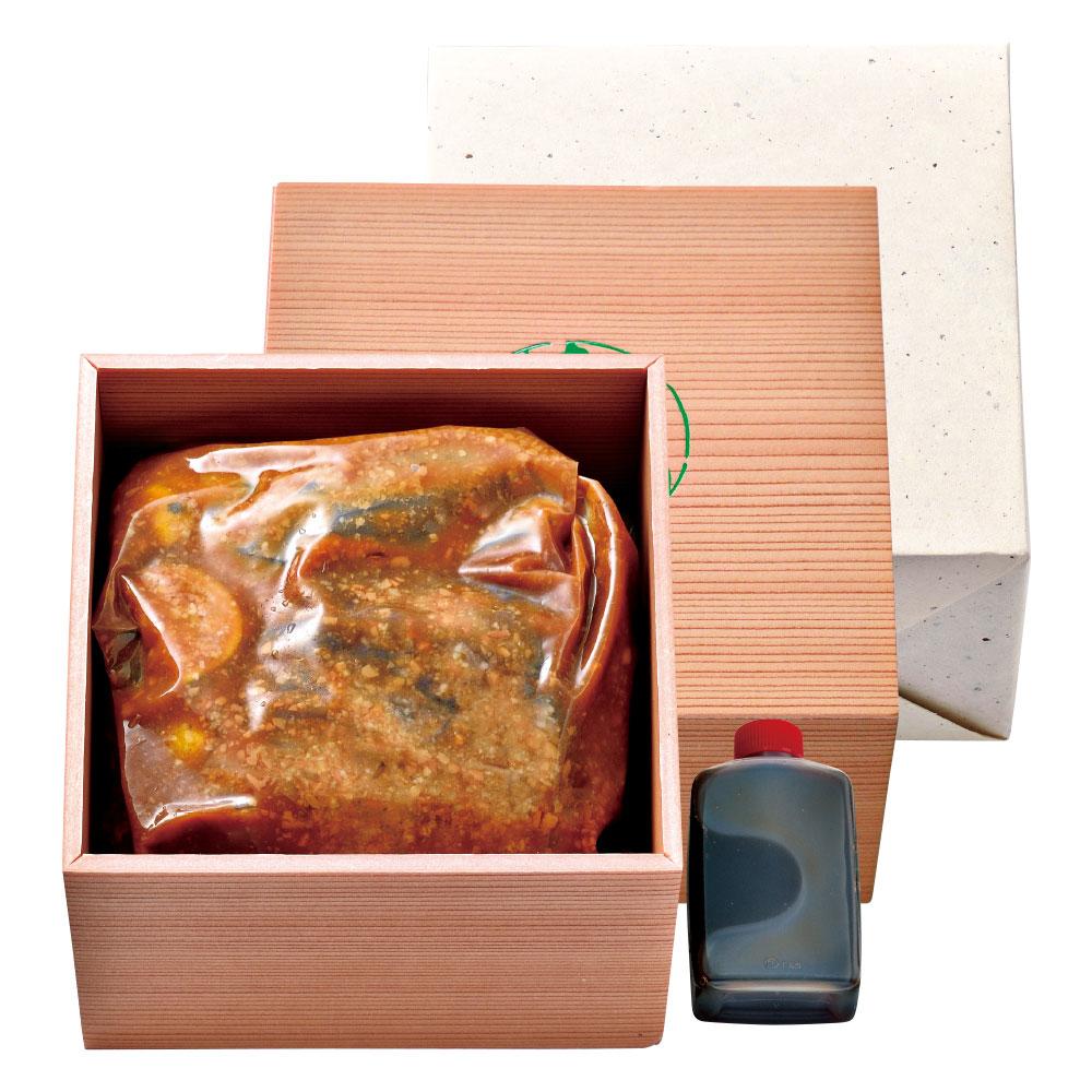 木乃婦特製 白味噌柚庵漬ローストビーフ