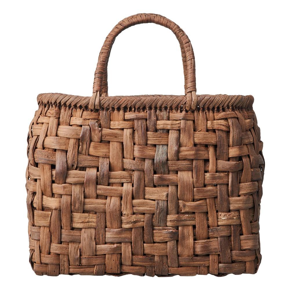つる工房鷹山 山ぶどう籠バッグ 乱れ編み商品画像