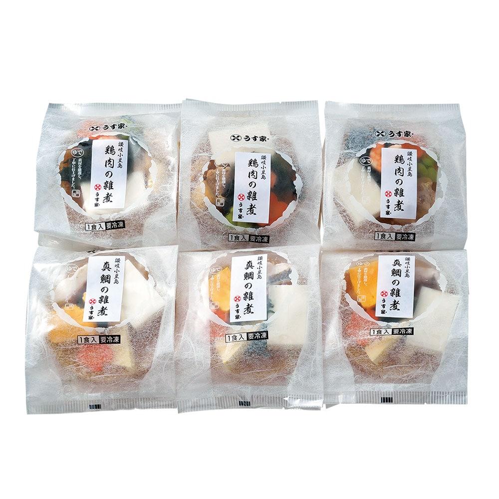 真鯛と鶏肉のお雑煮 各3食セット