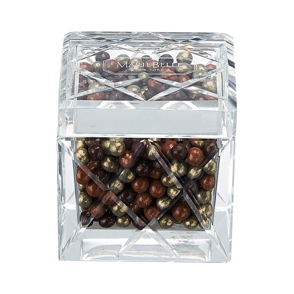 キリコガラスキューブ ミックスパール