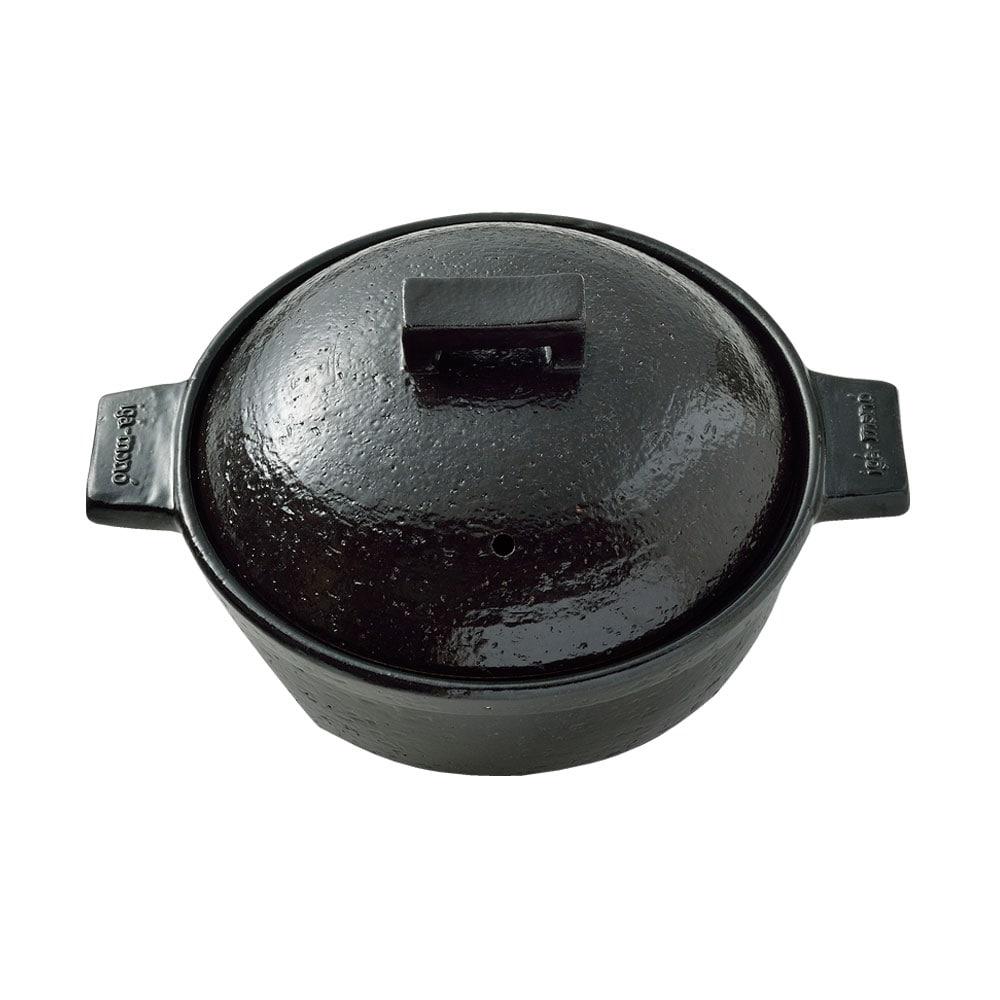 ビストロ蒸し鍋 小(黒)