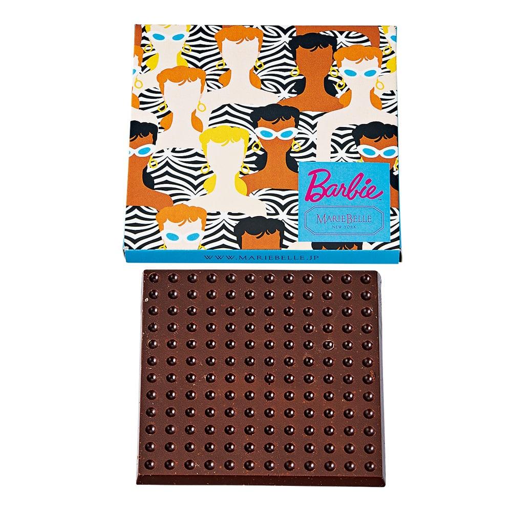 60th Anniversary Barbie×Mariebelle Bar Chocolate(バーチョコレート)ラムレーズン