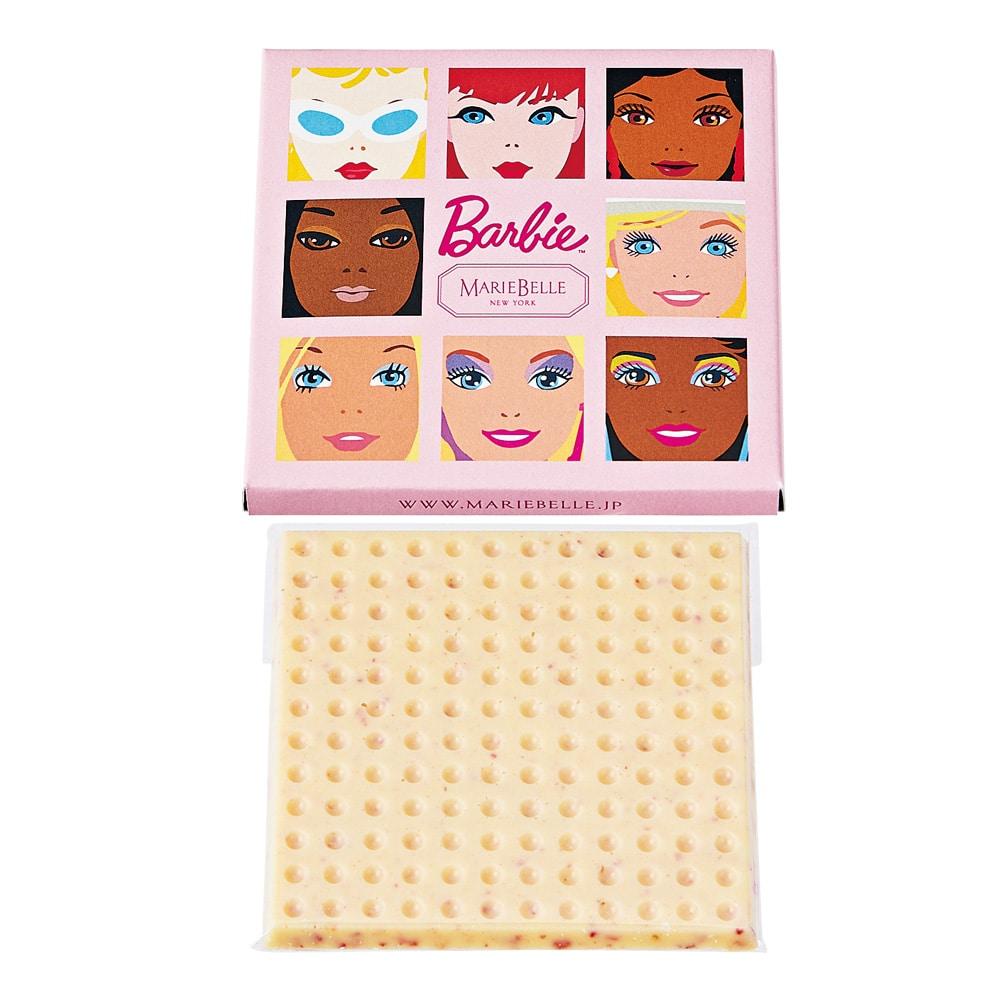 60th Anniversary Barbie×Mariebelle Bar Chocolate(バーチョコレート)ホワイトチョコレート&ストロベリー