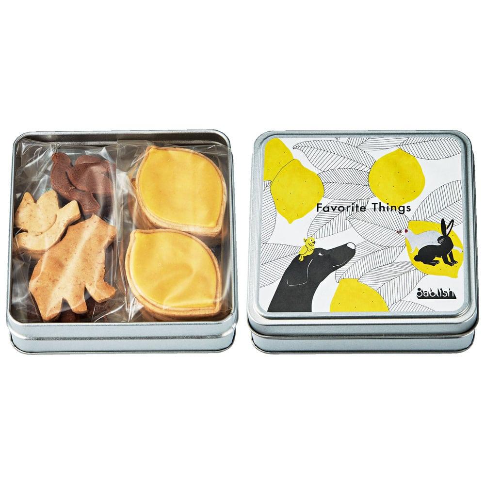 フェイバリットシングスシリーズクッキー缶&バッグセット 「レモン」