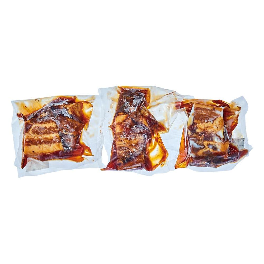 自家製豚バラ角煮 3袋入り
