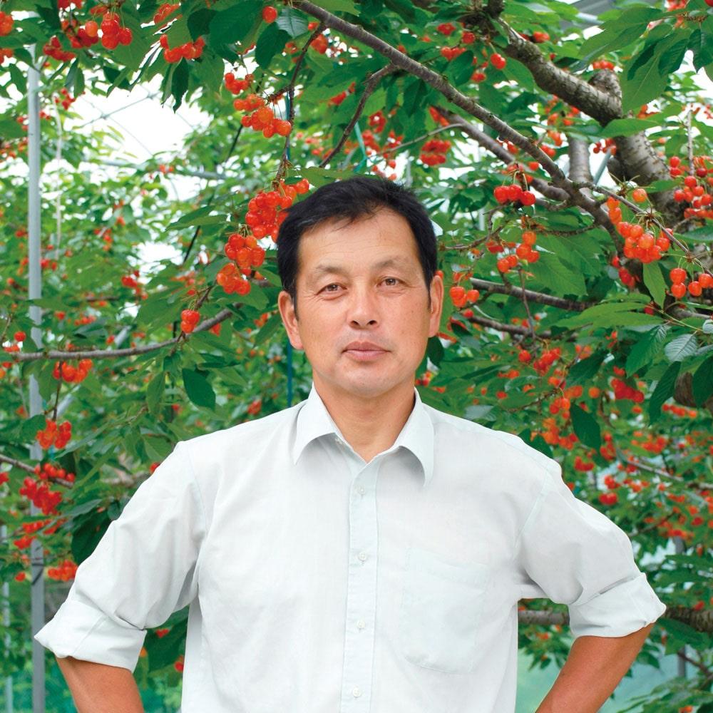 [清野親太郎さん]紅秀峰2L 1kg(500g×2)(バラ詰)