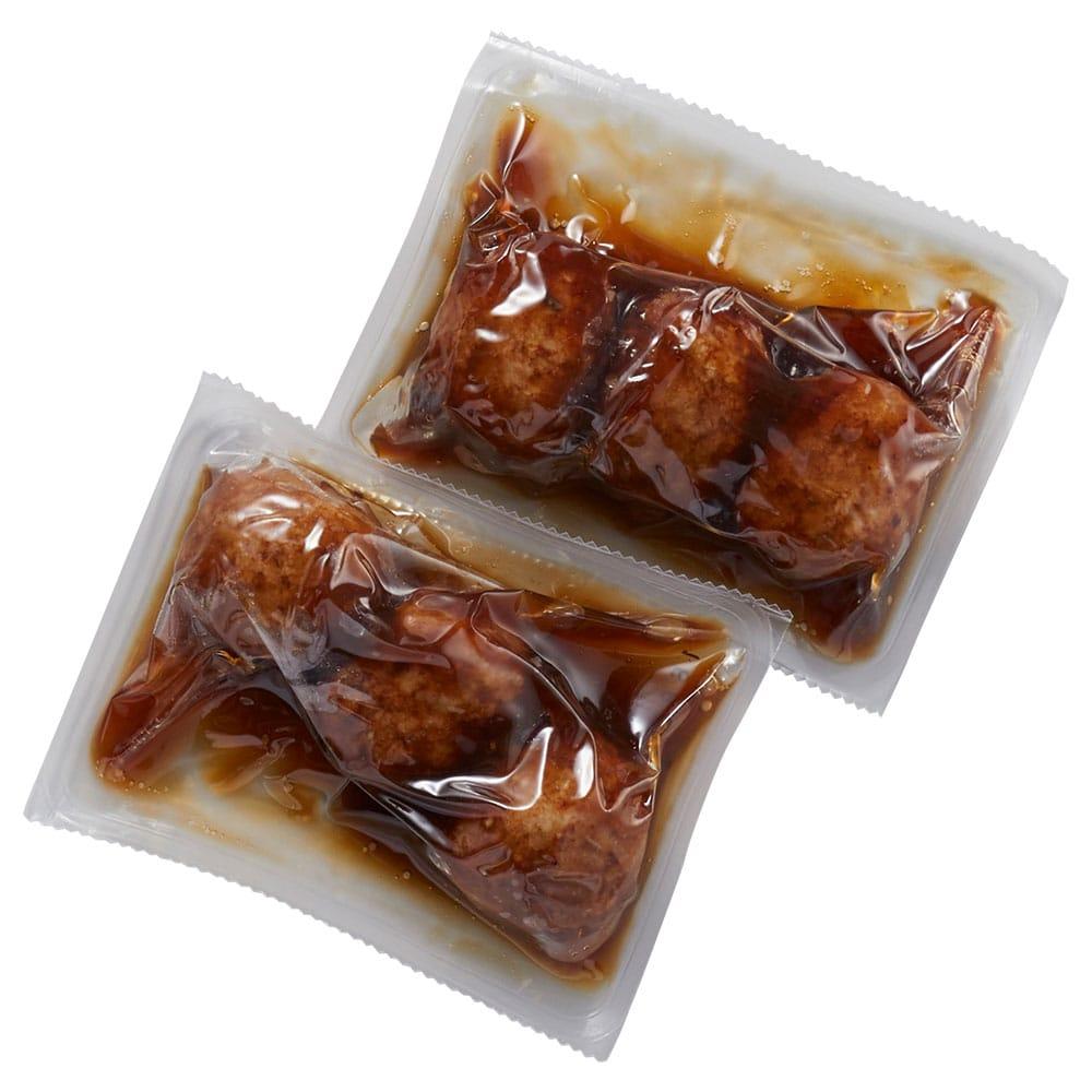 黒甘酢肉団子