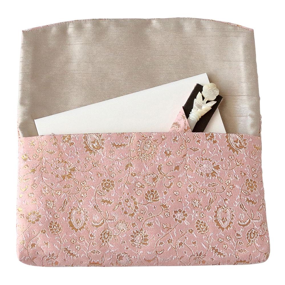 懐紙入れ4点セット ピンク