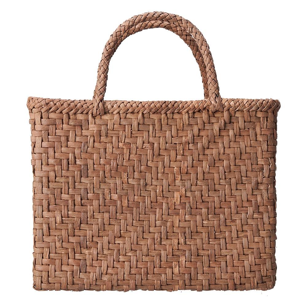 山ぶどう籠バッグ 網代編み角型