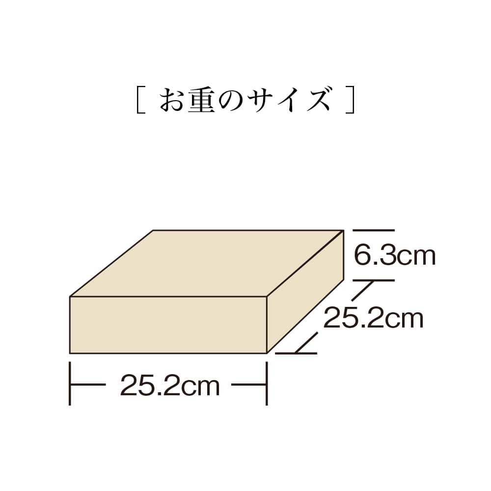 おせち一段(約3〜4人前)