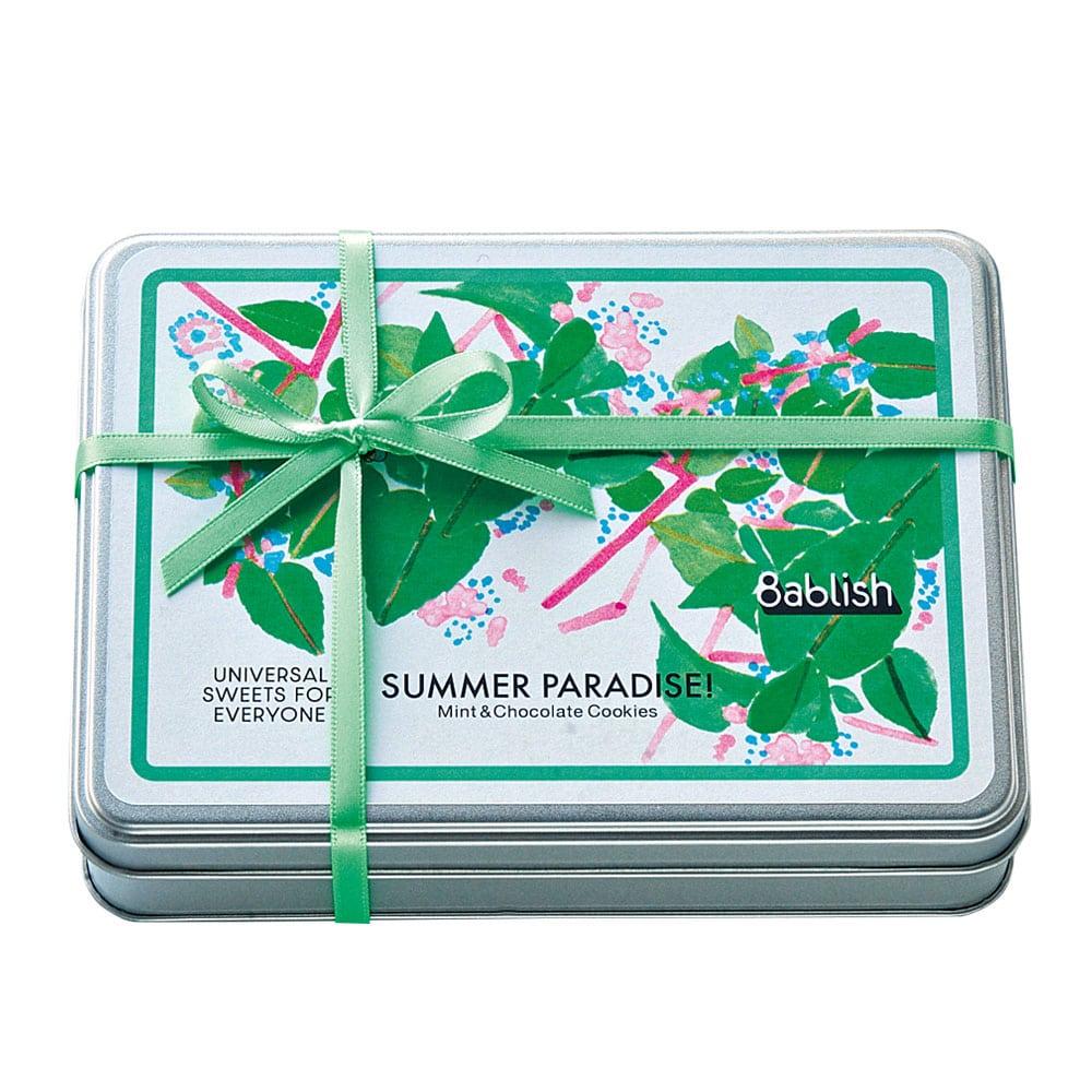 [婦人画報限定]SUMMER PARADISE!ミント&チョコクッキー