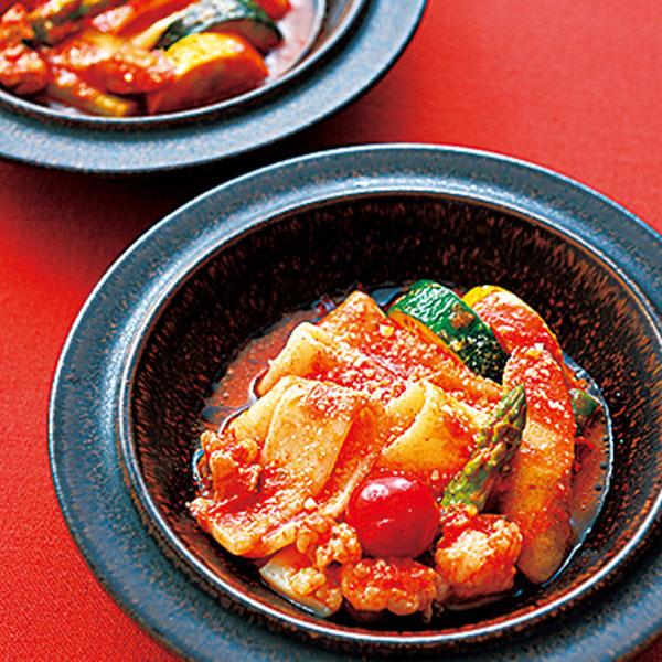 チーズとトマトのローマ風もつ鍋セット
