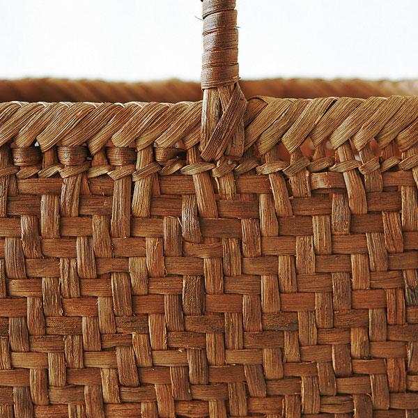 山ぶどう網代編み籠バッグ