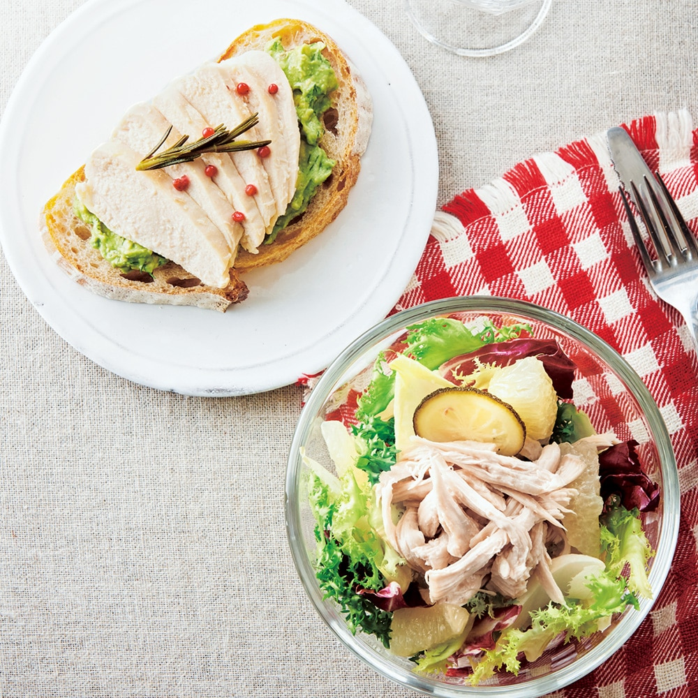 匠赤鶏のサラダチキン 2種セット 4個入り(2種×2個)