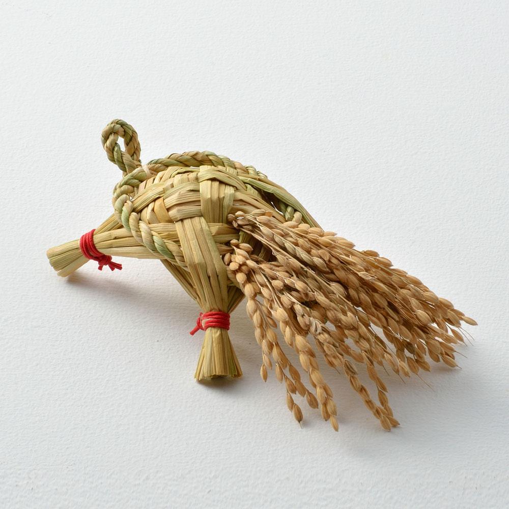 蓬莱飾り「大松壽」村瀬治兵衛さんの独楽盆付き