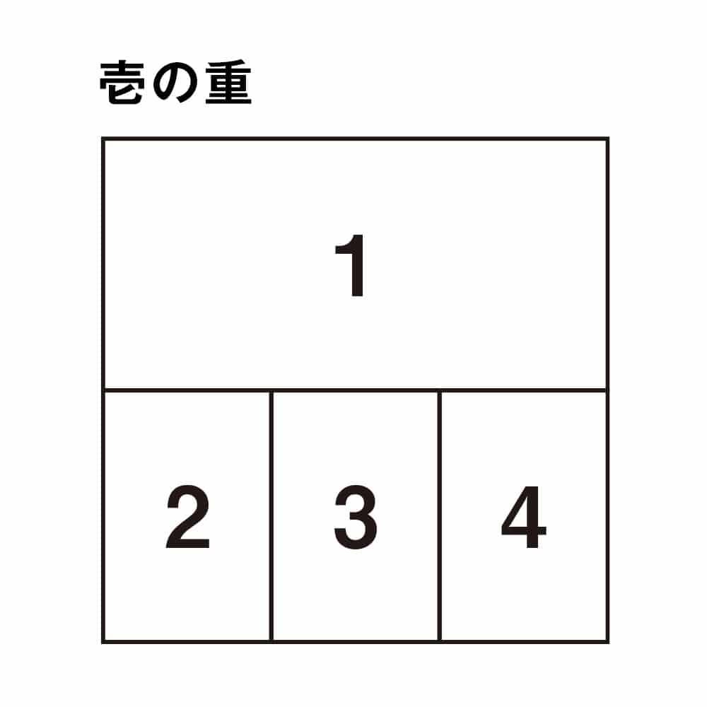 婦人画報のおせち ミニ和三段重(2〜3人前)