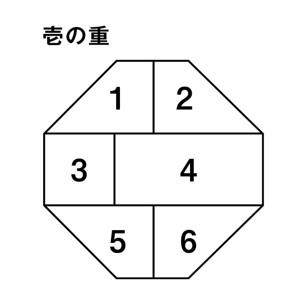 婦人画報のおせち 福八角和三段重(4人前)