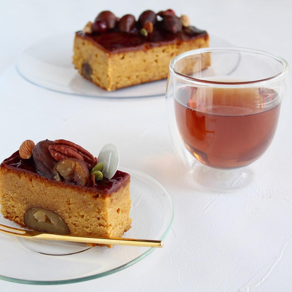 キャラメルマロンケーキ