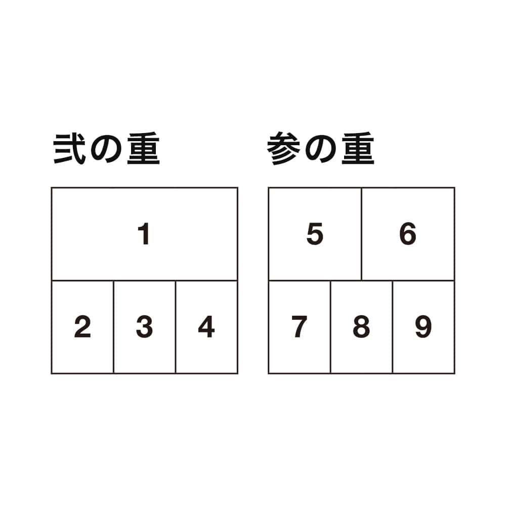 婦人画報おせち 和洋五箱重(3〜4人前)