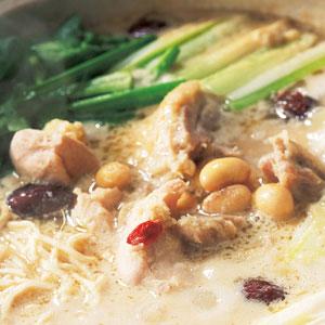 新得地鶏の生姜鍋