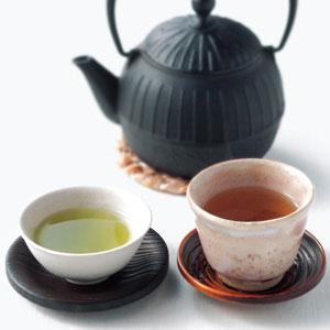 宇治茶師ほうじ茶と抹茶入り玄米茶