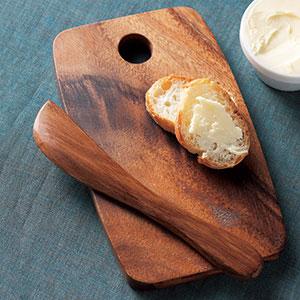 カッティングボード小+バターナイフ