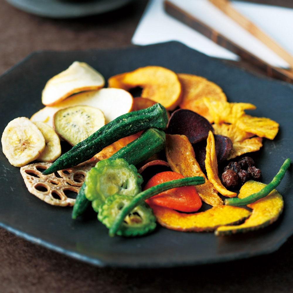 野菜果物チップス(缶入り)
