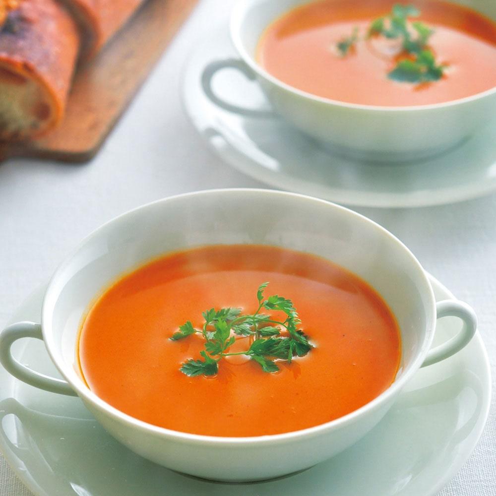 伊勢海老入りスープ