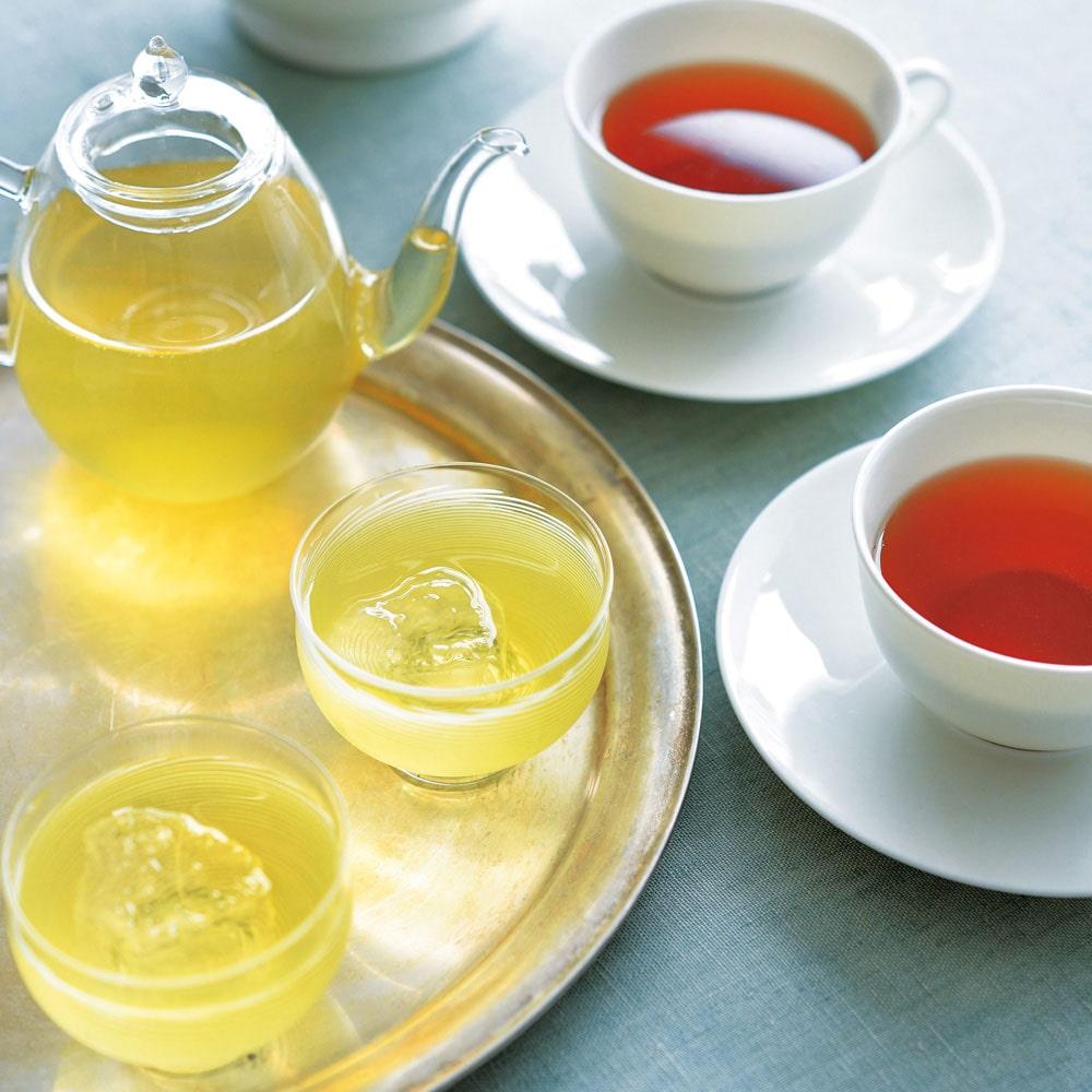 水出し煎茶とうれしの紅茶のセット