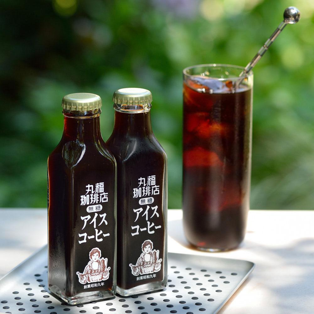 丸福珈琲店 瓶詰アイスコーヒー6本入(無糖)