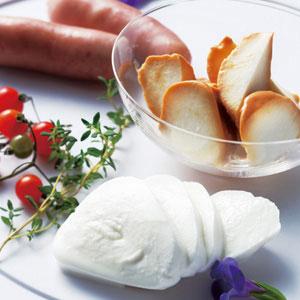 モッツァレラチーズ&ソーセージ セット