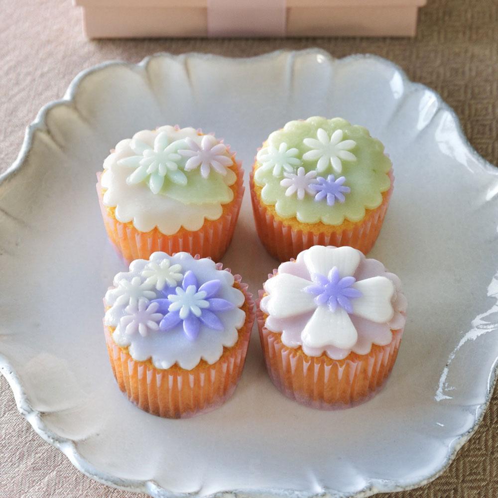 デコレーションカップケーキ詰合せ(4個)