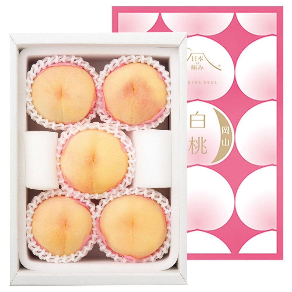日本の極み 岡山県一宮産 清水白桃イメージ