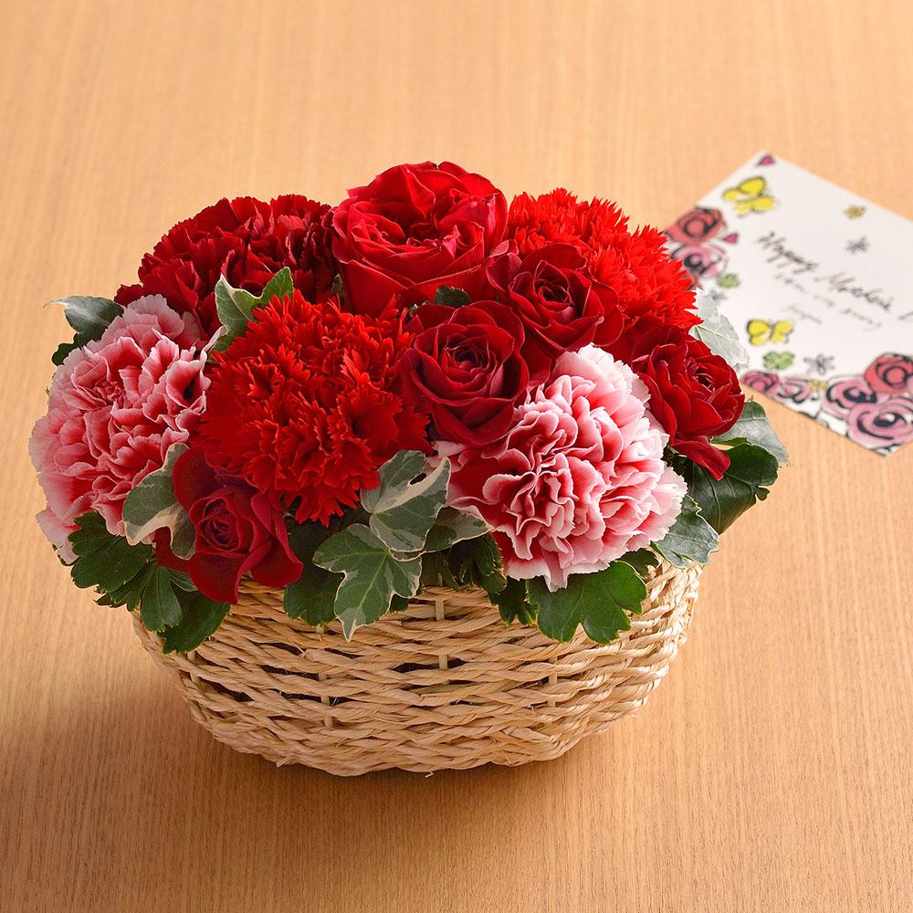 母の日にフラワーギフト♪お花はいつもらっても嬉しい
