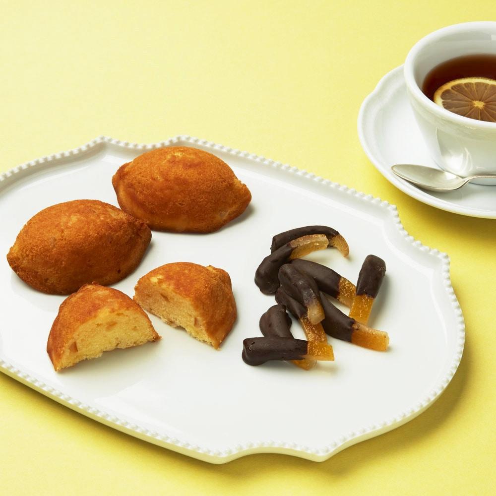 瀬戸田レモンのシトロネットとレモンケーキのセット