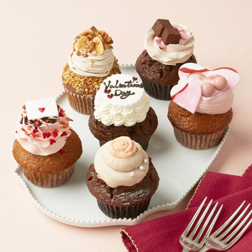 バレンタイン カップケーキ
